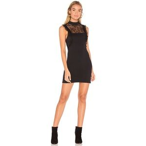 Free People Lace Beaumont Muse Dress Black Size M